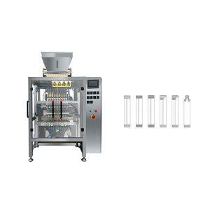 Máquina de envasado de azucre de liña recta de 8 liñas