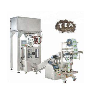 máquina automática de envasado pirámides de nylon de herbas para té
