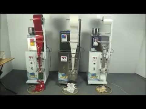 Máquina automática de envasado de bolsas de té de papel de filtro de pequena escala
