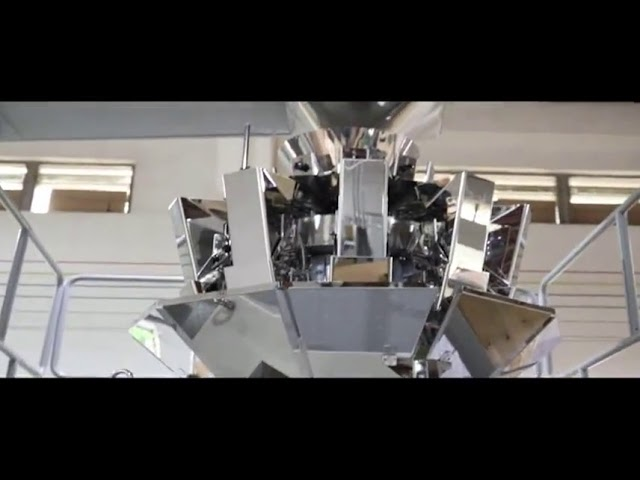 Máquina automática de envasado de arroz de grano vertical