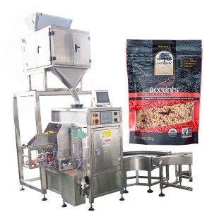 bolsa de café en polvo dada máquina de envasado