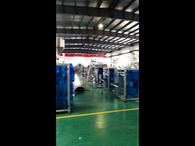 Máquina de envasado de fluído para azucre de caramelos para o mercado de EE. UU