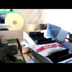 Caixa de cartón totalmente automática caixa de envasado sachet cartón máquina prezo