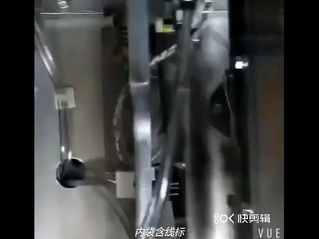 Bolsa de té de nylon Bolsa de máquina Bolsa de té de triángulo Máquina de envasado Máquina de envasado de po de té