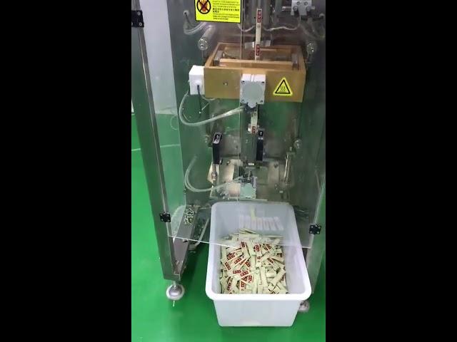 pequeno sachet vertical 3g 5g máquina de envasado en po de café automático