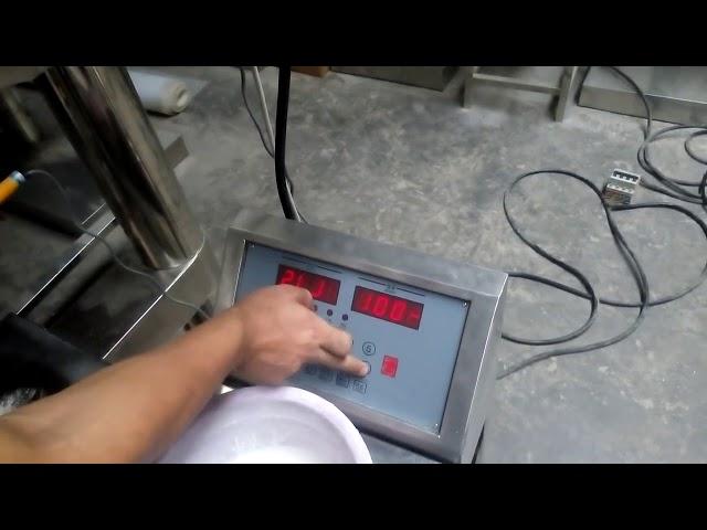 Especias Máquina de recheo en po de máquina Máquina de envasado en po de automática en polvo de Snus