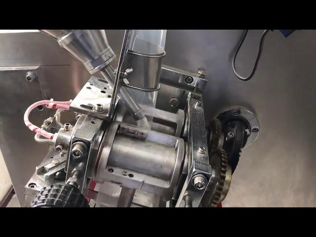 PLC control máquina de envasado horizontal en po de saco xemelgo